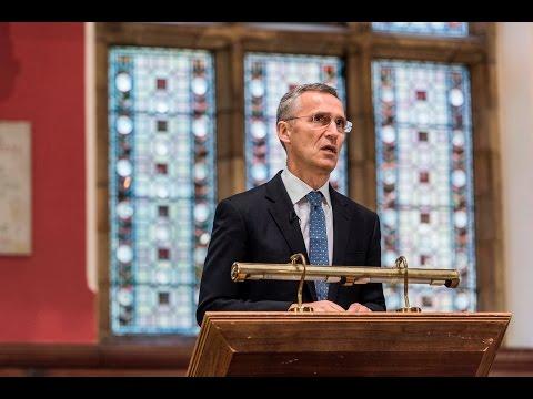 NATO Secretary General at the Oxford Union, 24 NOV 2016, Part 1/2