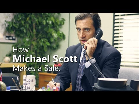 The Office – How Michael Scott Makes a Sale