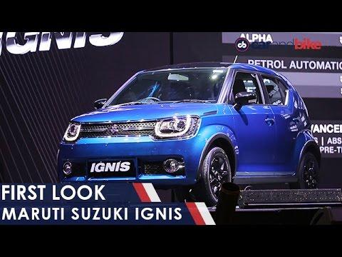 Maruti Suzuki Ignis First Look - NDTV CarAndBike