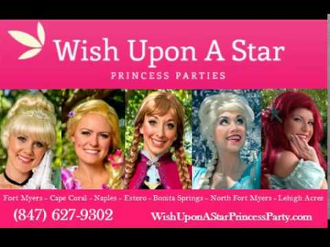 Wish Upon A Star Princess Parties Fort Myers Home Page