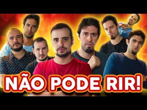 NÃO PODE RIR! - com BARBIXAS (Anderson Bizzocchi, Daniel Nascimento, Elidio Sanna) e BRUNO MOTTA