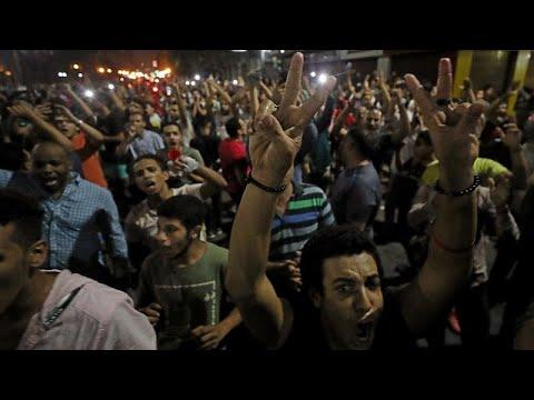 Manifestations Anti-Sissi En Egypte