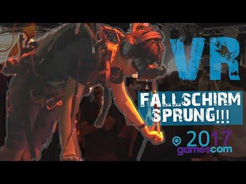 EPISCHER VR FALLSCHIRMSPRUNG auf der GAMESCOM 2017 | Para Parachute