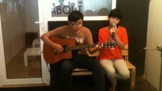Nụ cười Việt Nam - Linh Phi cover by Shanny Meagan ft. Duy Linh Nguyễn, (Guitarist: Ngọc Phú)