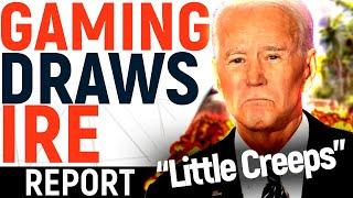 Games UNDER FIRE: Joe Biden SLAMS AAA + REGULATION, Loot Box Debate Intensifies In UK!