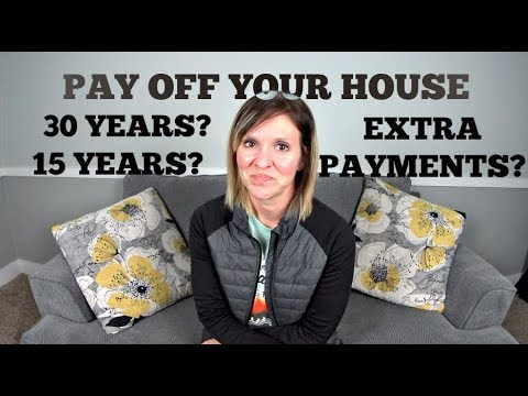 How we are paying off our house early | Refinancing from a 30 to a 15 year