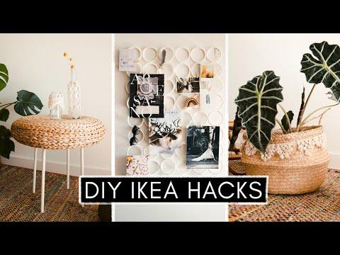 3,5 IKEA Hacks für Boho Vibes im Wohnzimmer - schnell und ...