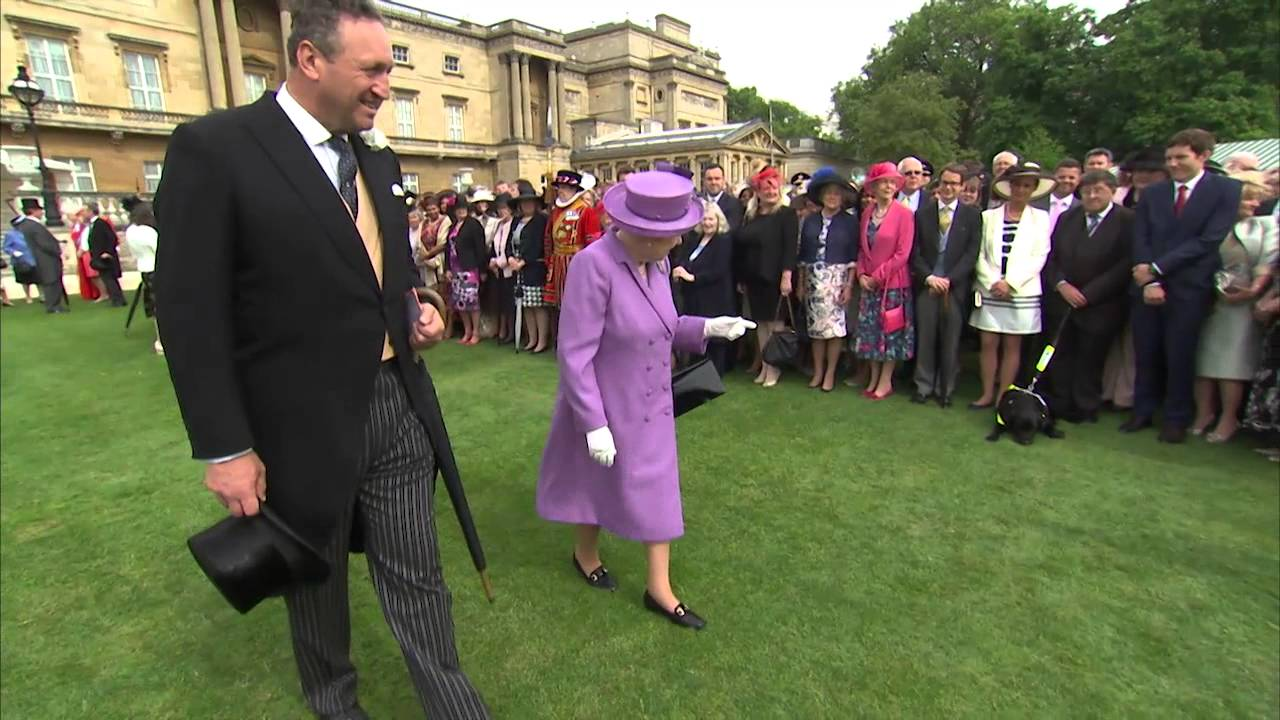 A Garden Party At Buckingham Palace Youtube
