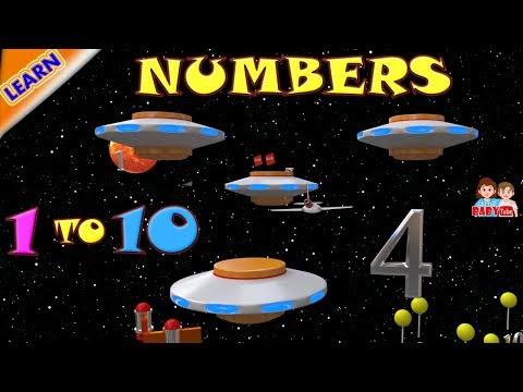 Learn Numbers 1 to10 for Children | Number Learning Videos for Kids | How to Learn Numbers 1 to 10