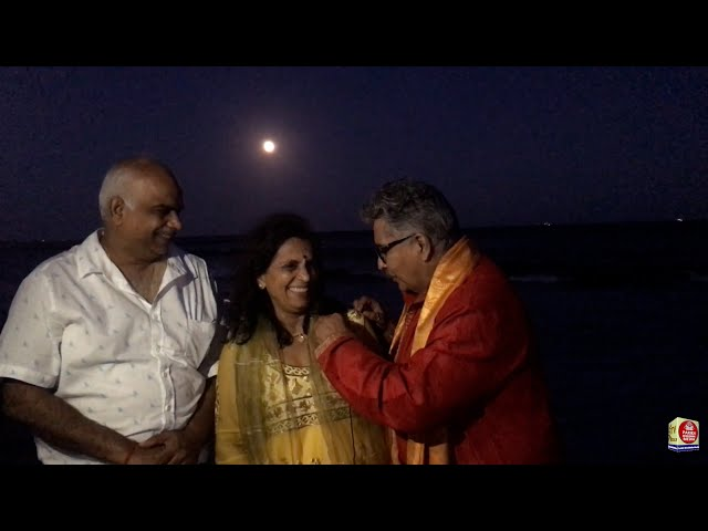 Ganesh Visarjan from Broadway Mall to Lido Beach on Akshay Triteeya