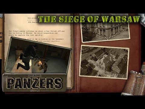 "Codename: Panzers, Phase One. Germany mission 3 ""The Siege of Warsaw"""