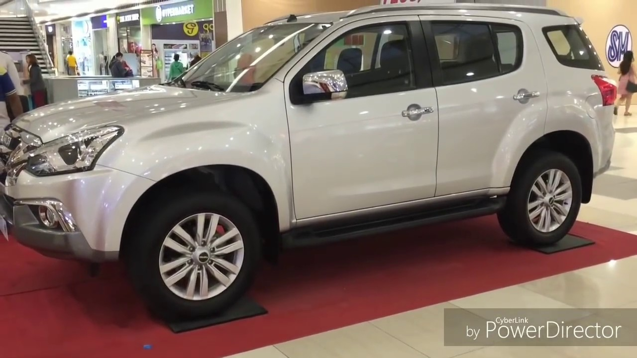 Isuzu Mu X 2019 In Philippines Walkaround Youtube