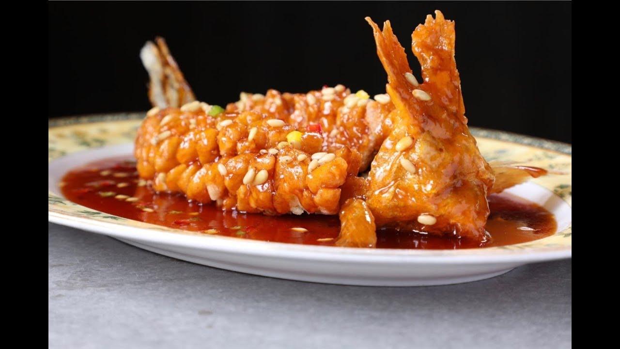 美食臺 | 如何在家燒出漂亮的松鼠桂魚 - YouTube