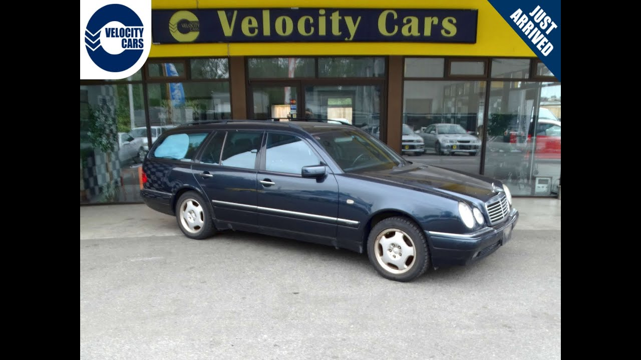 1998 mercedes benz e320 wagon 7 seat 4wd for sale in for Mercedes benz richmond bc