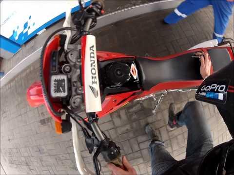 Расход топлива Honda XR250