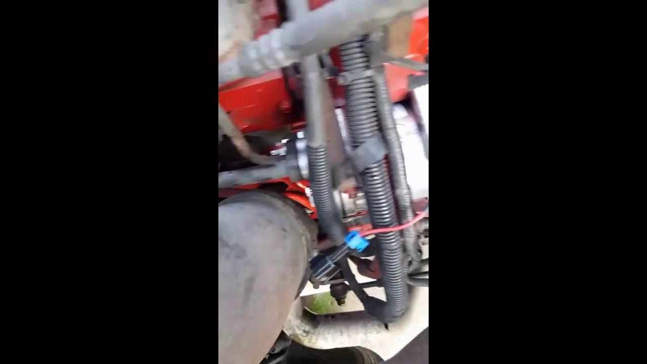 2010 international prostar ac  compressor replacement