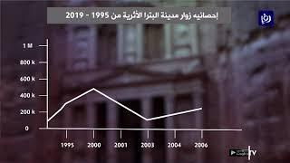 إحصائيات تظهر أعداد زوار البترا منذ عام 1995 (23/9/2019)