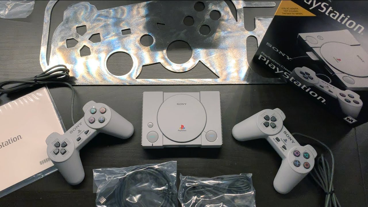 Get Nostalgic With Our PlayStation Classic Unboxing