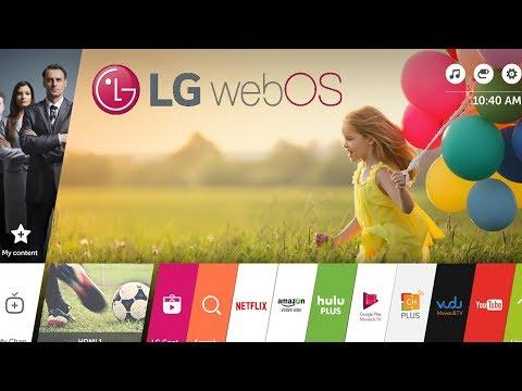 Обзор операционной системы для Smart TV от LG, WebOS