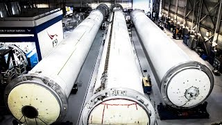 SpaceX Rocket Tank Production | Timelapse