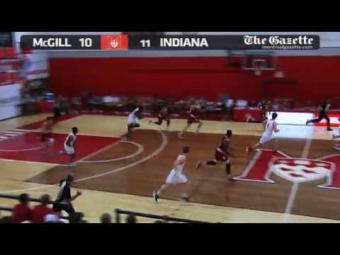 McGill University Redmen vs Indiana Hoosiers - August 12th 2014