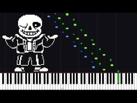 Waterfall - Undertale [Piano Tutorial] (Synthesia) // DS Music thumbnail