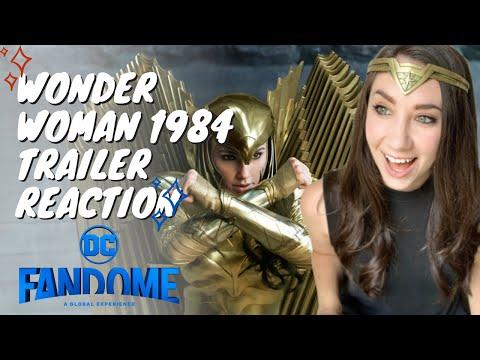 Wonder Woman 1984 Official Main Trailer Reaction Youtube