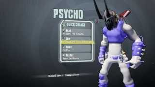Borderlands 2: Assault on Dragon Keep Skins for Krieg [Psycho]