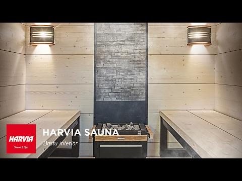 HARVIA SKOLA - Bastu interiör