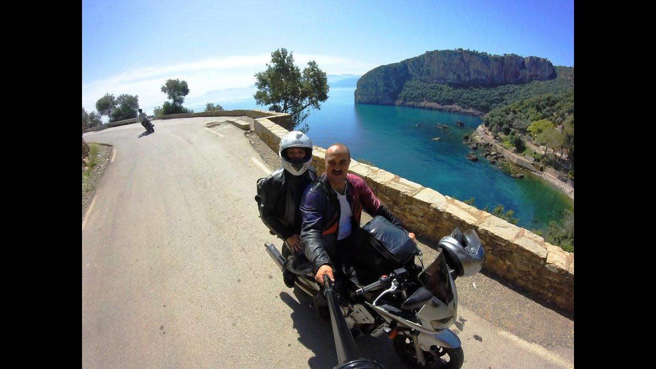 voyage algerie moto