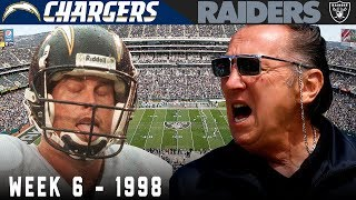 The UGLIEST Win EVER! (Chargers vs. Raiders, 1998) | NFL Record For Punts!