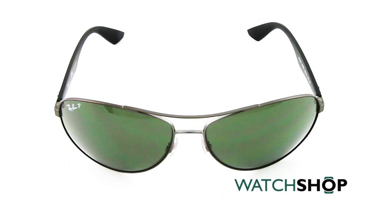 ce17f68622 Ray-Ban Men s RB3526 Sunglasses (RB3526-029 9A-63) - YouTube