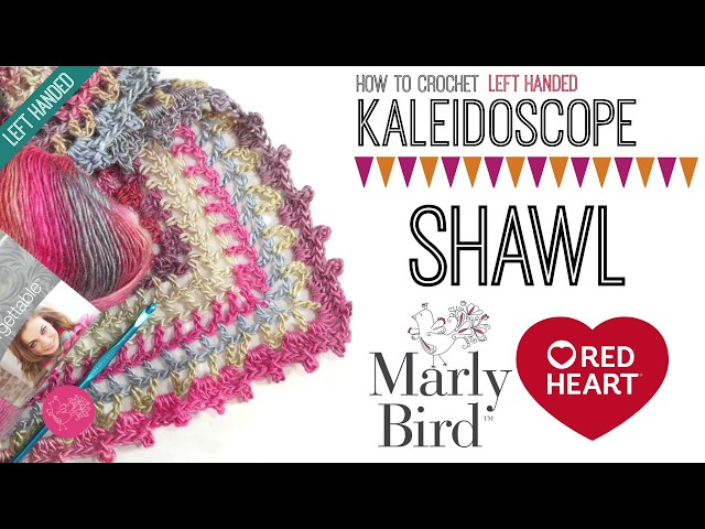 The Kaleidoscope Shawl: a free crochet pattern for you