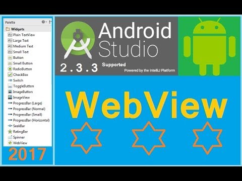 Android Studio Tutorial - Android Webview Example Local Html.