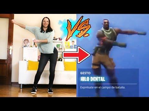 Natalia Hace Todos los Bailes de Fortnite en la Vida Real
