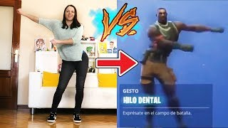 Natalia Does All Fortnite Dances in Real Life