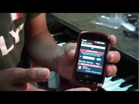 LG Wink Style T310 Unboxing