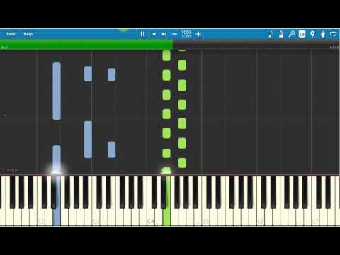 Lucia - Silence Piano Tutorial - Synthesia