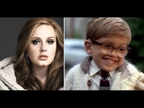 "Adele and Simon Birch sing ""Hello"""