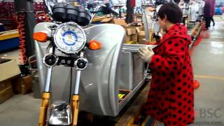 Electric Tuk Tuk assembling video