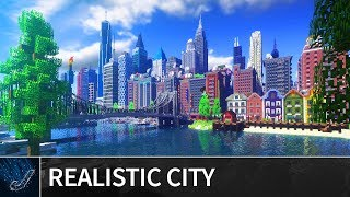 Minecraft Huge Realistic Patriotville City Cinematic Map Download Youtube