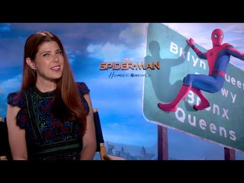 Marisa Tomei Talks Aunt May's Dancing Shoes: Spider-Man: Homecoming