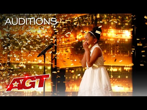 Golden Buzzer: 9-Year-Old Victory Brinker Makes AGT HISTORY! - America's Got Talent 2021