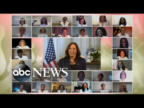Howard sorority sisters inspired by Vice President Kamala Harris' rise