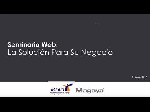 Magaya Webinar: Freight Forwarding Software for Ecuador (Spanish)