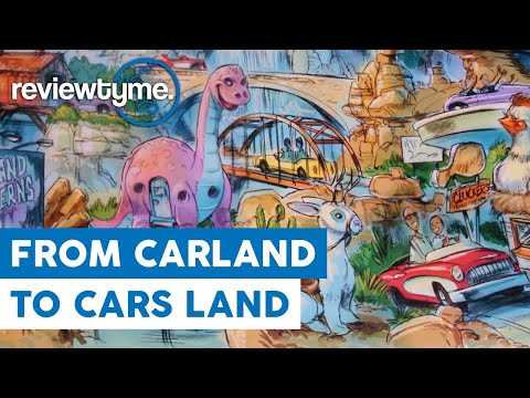 The Land That Saved Disney California Adventure - Cars Land | ReviewTyme