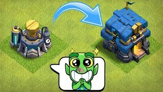 """TIME TO UPGRADE!!! GIVEAWAY!! """"Clash Of Clans"""" TH 12 & LAB!!"""