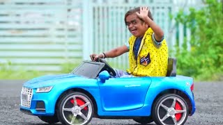 "CHOTU DADA KI CAR NO.1 |"" छोटू कार वाला "" Khandeshi hindi comedy 