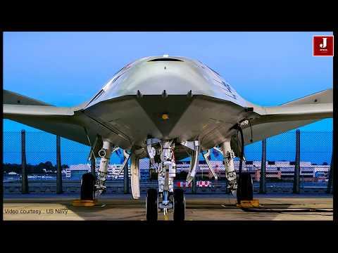 Boeing reveals autonomous jet that refuels fighter planes in mid-air - MQ-25 Stingray