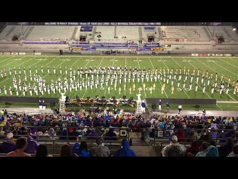 The University of North Alabama Pride of Dixie Marching Band Live In Concert 10/7/17